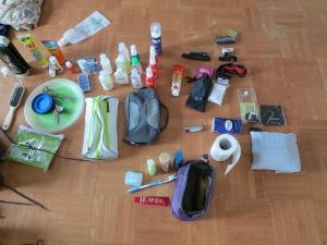 Gemeinschaftliches Gepäck - Packliste