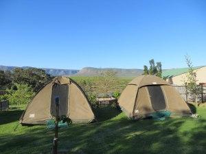 Unser Campingplatz - eine umgebaute Weinterrasse
