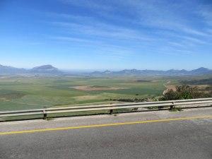 Unsere Aussicht auf dem Weg nach Kapstadt