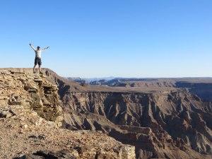 Der Fishriver-Canyon, der zweitgrößte Canyon der Welt
